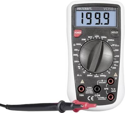 Hand-Multimeter  VOLTCRAFT VC150-1  CAT III 250 V Anzeige (Counts): 2000