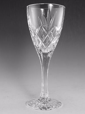 Royal DOULTON Crystal - CICANT Cut - Large Wine Glass / Glasses - 8""