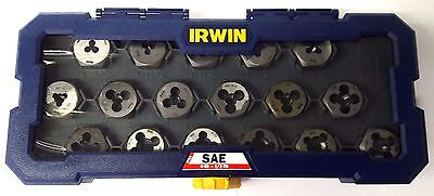 Irwin 4935060 SAE 1 in. Hex Dies 4-40 to 1/2-20 With Coarse Fine Threads USA