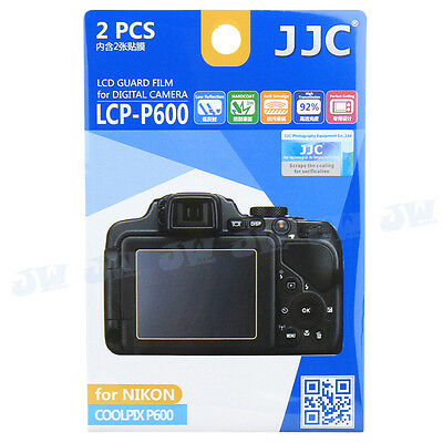JJC LCD Screen Protector Film for Nikon Coolpix P600 P900 P610 P900s P610s B700