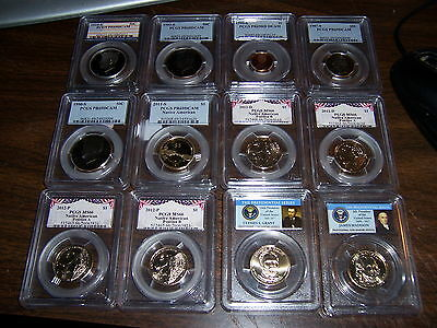 4 Pcgs Graded Coins-Mixed Box -Estate Buy-1 Buy=4 Slabs Randomly Pulled From Box