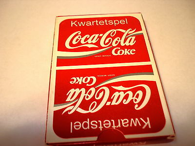 Coca-Cola Foreign Kwartetspel Cards With Pictures Of Collectibles