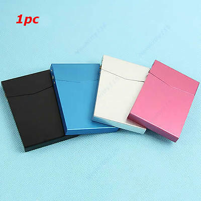 New Business Card Case Holder Box Automatic Switch Cigarette Case Pocket Slim