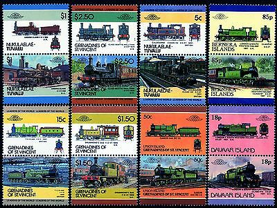 LSWR LONDON & SOUTH WESTERN RAILWAY Collection GB Train Stamps L&SWR Locomotives