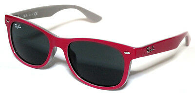 Ray Ban 9052S 9052/s 47 Junior 177/87 Sunglasses Pink On Grey Bambino Occhiale