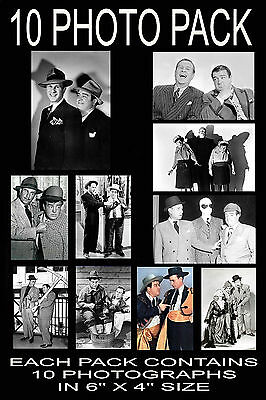 "6""x4"" PHOTOGRAPHS - PACK OF 10 - ABBOTT & COSTELLO"