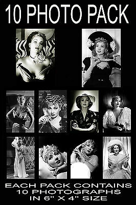 "6""x4"" PHOTOGRAPHS - PACK OF 10 - ANN SOTHERN"