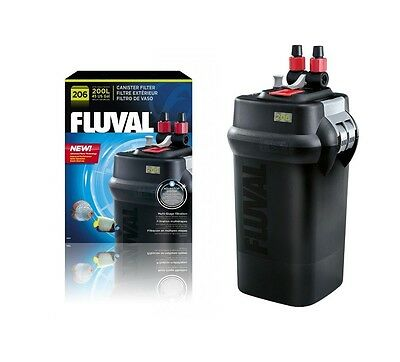 Fluval - 206 Canister Filter - Up To 200 Litres - 780 Litres Per Hour