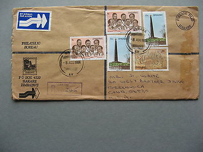 ZIMBABWE, R-cover to the USA 1984