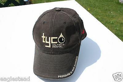 Ball Cap Hat - Tyco Oifield Rental Pressure Testing - Oil Pipe Gas Well (H1064)