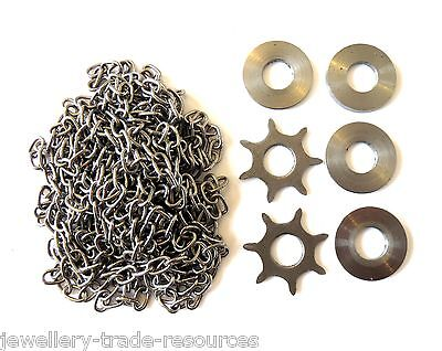 New Replacement Longcase Clock Grandfather Basic Chain & Sprocket Set