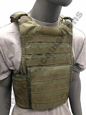 SDS BAE Systems RBAV-SF Releasable Body Armor Vest Ranger Green RLCS - Size LRG