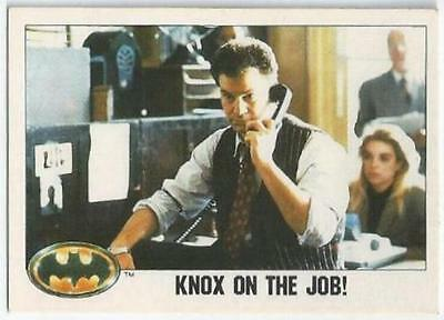 Batman - Card 021 - Knox On The Job!