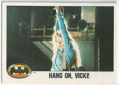 Batman - Card 084 - Hang On, Vicki!!