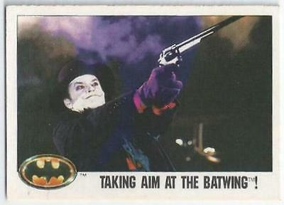 Batman - Card 107 - Taking Aim At The Batwing!