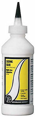 NEW Woodland Scenics Scenic Glue 8 oz S190