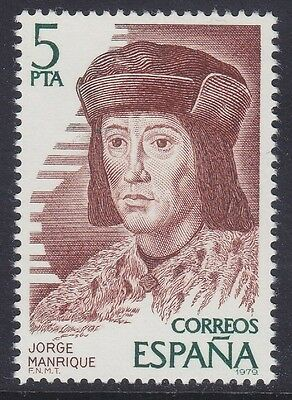 Spain 1979 - Jorge Manrique - P. 5 - Mnh