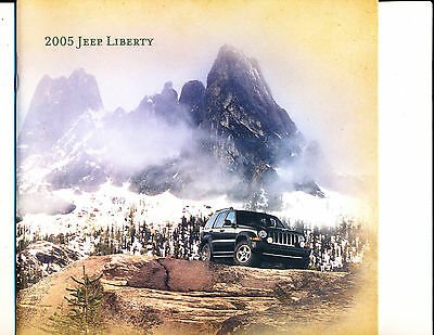 JEEP, 2005, LIBERTY, ADVERTISING BOOKLET