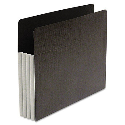 SJ Paper Fusion File Clutch Pocket 3 1/2 Expansion 9 1/2 x 11 3/4 50 Count Gray