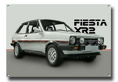 Ford Mk1 Fiesta Xr2 Metal Sign,classic Ford Cars.iconic