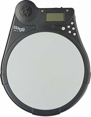 Stagg Beat Tutor Electronic Accessory Programable Drum Practice Pad EBT-10