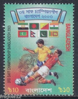 Bangladesh 2003 - Calcio Football - T. 10 - Mnh