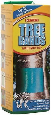 Vitax Fruit Tree Bands Winter Moth Trap Covers 10-12 Average Trees
