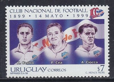 Uruguay 1999 - Centenario National Football Club - P. 7 - Mnh (2)
