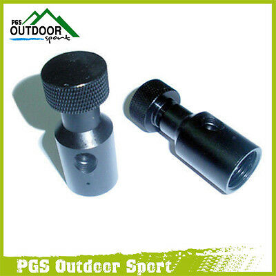Paintball CO2 Adapter Fill Station Remote On/Off ASA Two Holes 2pcs