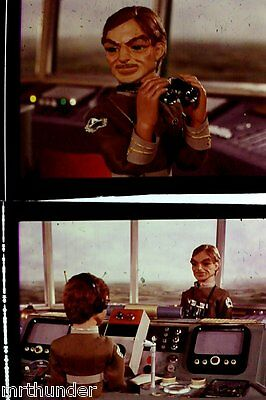 Gerry Anderson Thunderbirds 16mm Colour Film Half Frames - London Tower Shot C