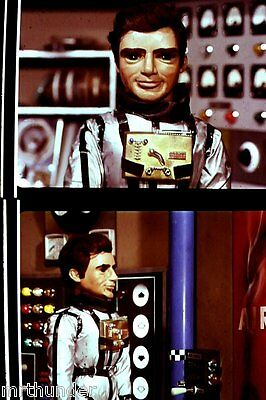 Gerry Anderson's Thunderbirds 16mm Colour Film Half Frames - Astronaut Double