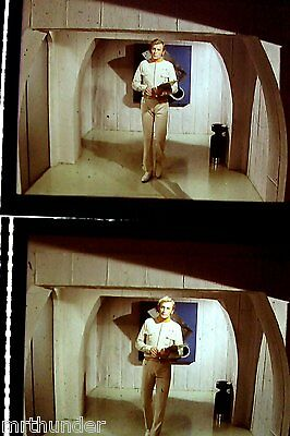 Gerry Anderson's UFO 16mm Colour Film Half Frames - Lt. Anderson James Cosmo x 2