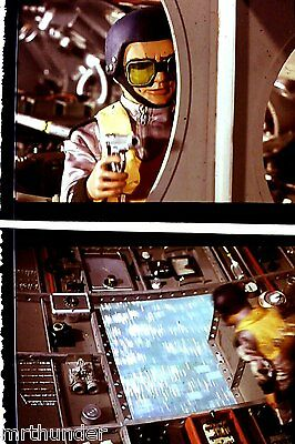 Gerry Anderson Thunderbirds 16mm Colour Film 1/2 Frames Fireflash Rescue Scene 5