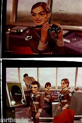 Gerry Anderson Thunderbirds 16mm Colour Film Half Frames - London Tower Shot D