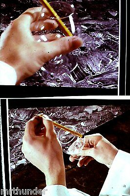Gerry Anderson Thunderbirds 16mm Colour Film 1/2 Frames - Hands Close-Up x 2