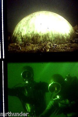 Gerry Anderson's UFO 16mm Colour Film Half Frames - Reflections In Water Dome