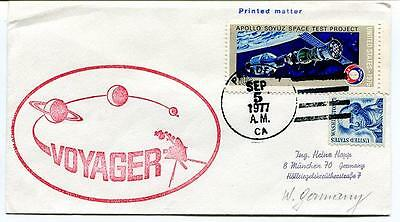 1977 Voyager Apollo Soyuz Test Project Planets USA SPACE NASA SAT