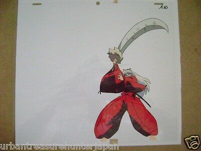 Inuyasha Rumiko Takahashi Anime Production Cel