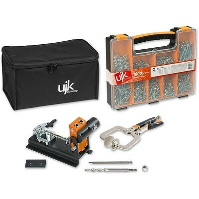 UJK Technology Pocket Hole Jig Complete Kit 717273