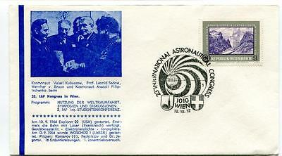 1972 23° International Astronautical Congress Wien Kubassow Sedow Kosmonaut