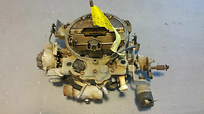 1981-1981; C3; Carburetor; USED Corvette