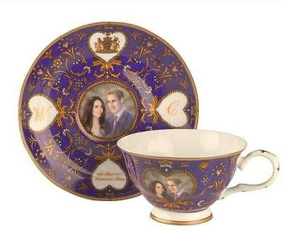 Gleneagles Royal Wedding Prince William Kate Middleton Bone China Cup Saucer