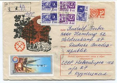 1975 Mail CCCP Deutsche Bundes SPACE NASA