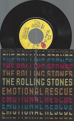 "7"" The Rolling Stones--Emotional Rescue"