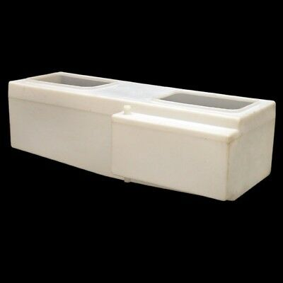 Lund Off White 25 Gallon Poly Marine Boat Livewell Baitwell Tank 2005580