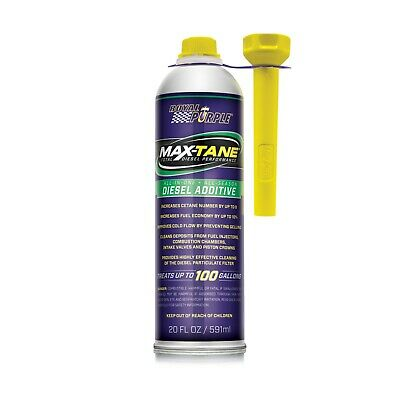 Royal Purple 11755 MAX-TANE Diesel Fuel Stabilizer Cleaner Cetane Booster 6-Pack