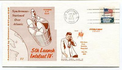 1973 5th Launch Intelsat IV Synchronous Stationed Atlantic Cape Canaveral SPACE