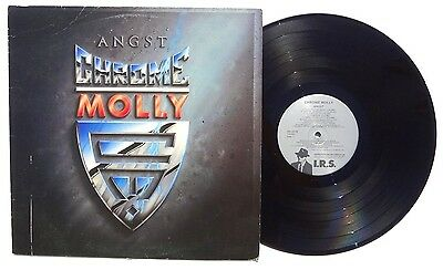 CHROME MOLLY: Angst LP IRS RECORDS I.R.S. 42199 US 1985 PROMO NM