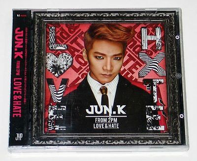 JUN. K (2PM) - Love & Hate (1st Mini Album) CD+Photobook+Postcard