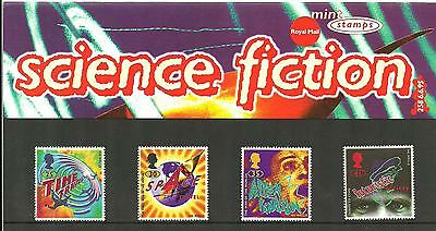 1995 Science Fiction Presentation Pack 258 SG1878 to SG1881 Royal Mail Mint nh